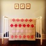 red quilt handmade mrshipp HIPPworks
