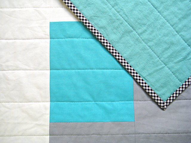 HIPPworks ADOPT collection Quilt 01 handmade modern